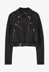 PULL&BEAR - Giacca in similpelle - black - 5