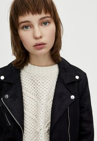 PULL&BEAR - Giacca in similpelle - black - 4