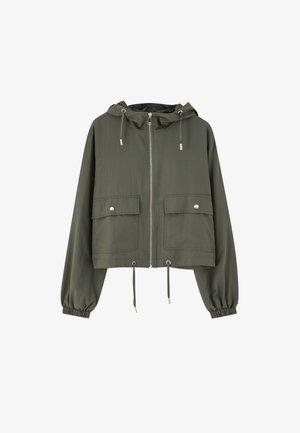Lehká bunda - dark green
