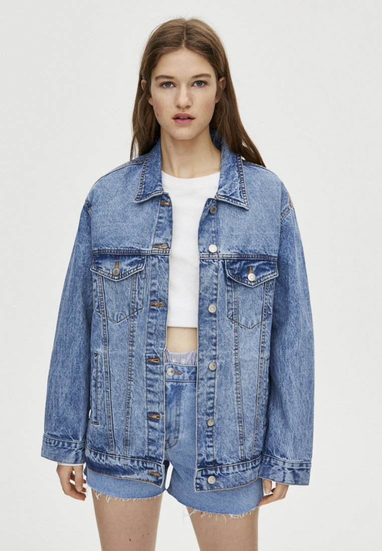 PULL&BEAR - Giacca di jeans - blue
