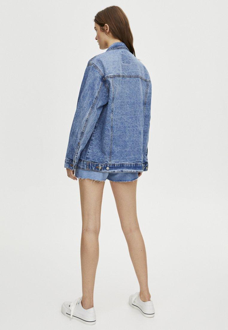 PULL&BEAR Kurtka jeansowa - blue