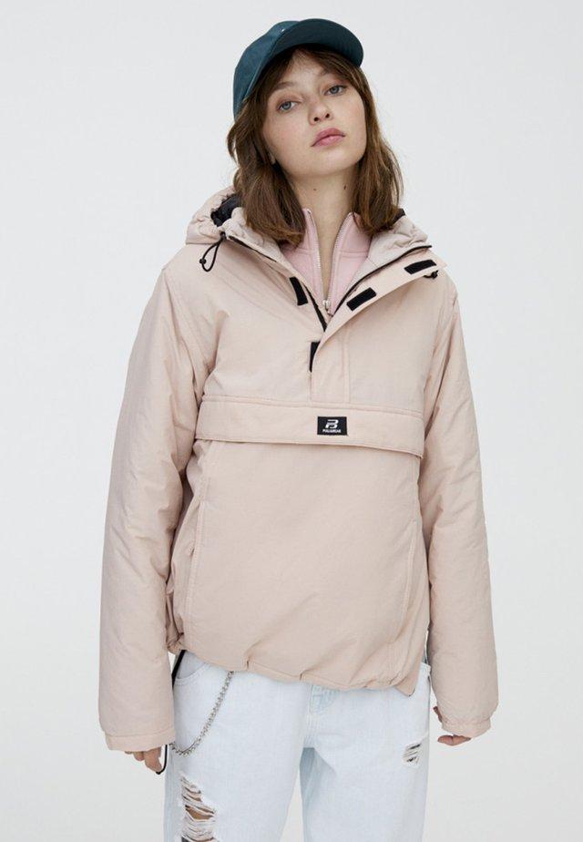 MIT BAUCHTASCHE IN VERSCHIEDENEN FARBEN - Light jacket - light pink