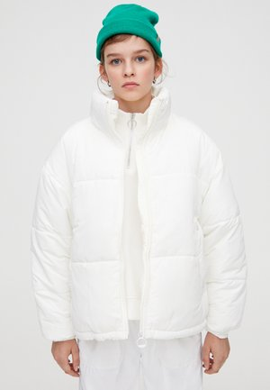 MIT ROLLKRAGEN - Winter jacket - white
