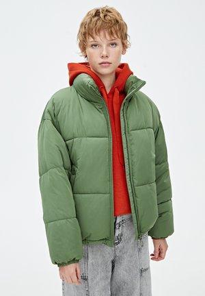 MIT ROLLKRAGEN - Zimní bunda - khaki