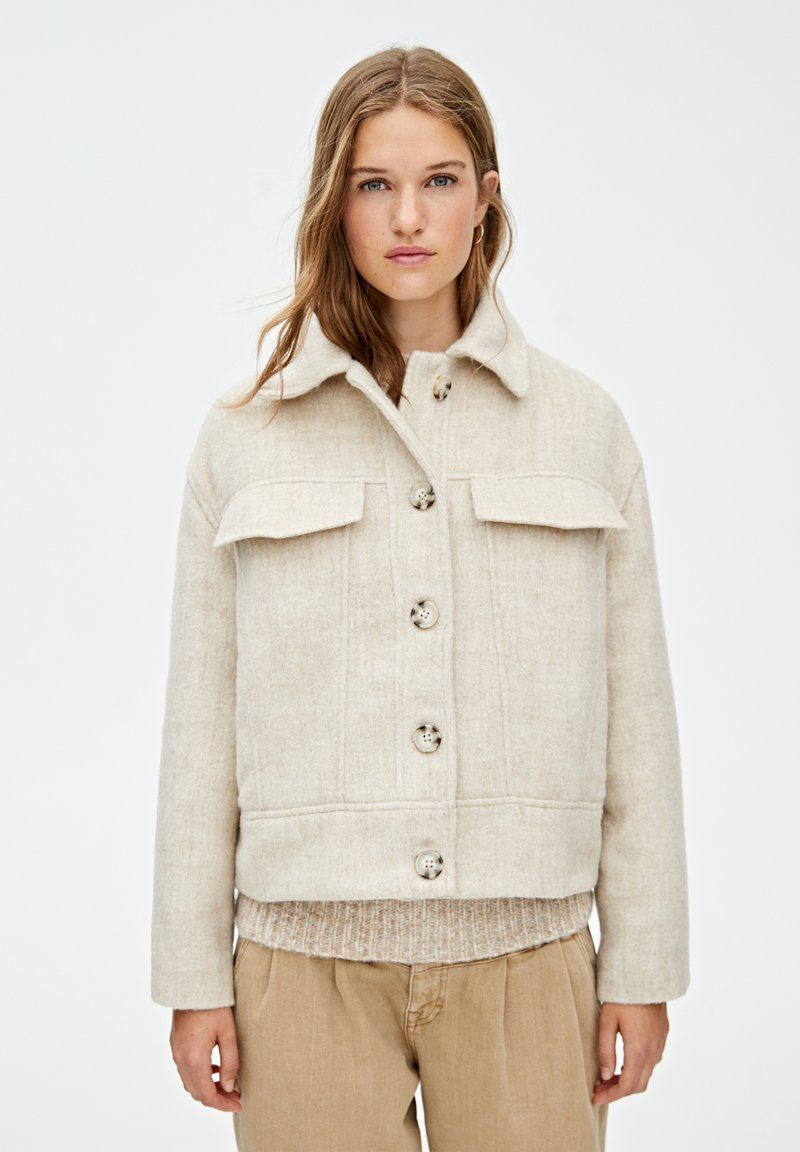 PULL&BEAR - Light jacket - beige