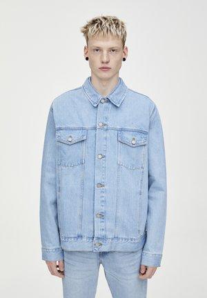 BLAUE TRUCKER-JEANSJACKE 09716522 - Kurtka jeansowa - blue denim