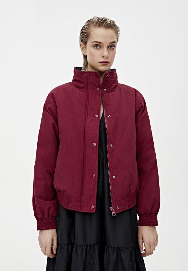 Fleece jacket - bordeaux