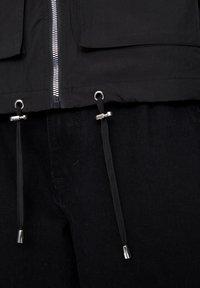 PULL&BEAR - Veste légère - black - 5