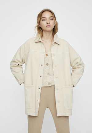 BASIC-WORKWEAR - Denim jacket - beige