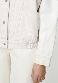 PULL&BEAR - Giacca di jeans - beige - 5