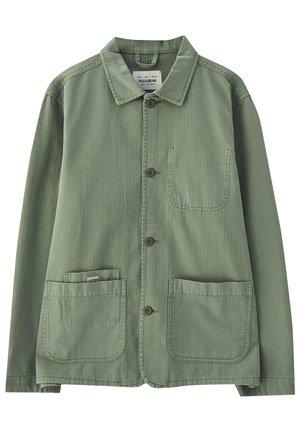 Denim jacket - dark green