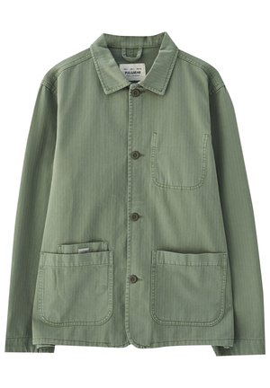 Džínová bunda - dark green
