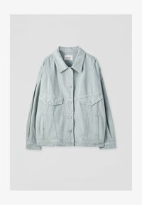PULL&BEAR - Veste en jean - light green - 5