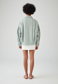 PULL&BEAR - Veste en jean - light green - 2