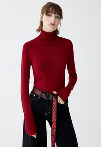 PULL&BEAR - Jumper - bordeaux - 3