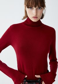 PULL&BEAR - Jumper - bordeaux - 4