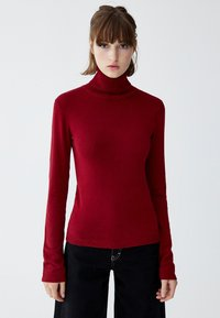 PULL&BEAR - Jumper - bordeaux - 0