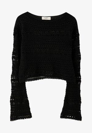 MIT LOCHMUSTER  - Trui - black
