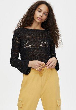 MIT LOCHMUSTER  - Pullover - black