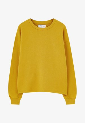 Felpa - mustard yellow