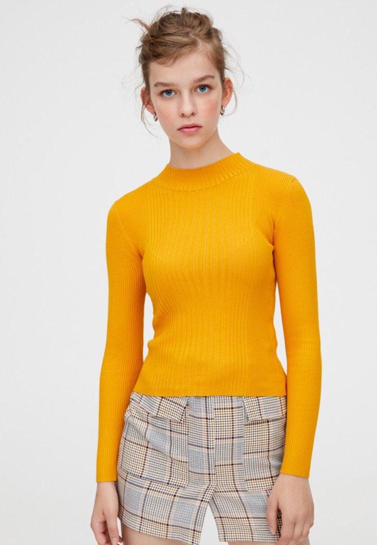 PULL&BEAR - Jumper - yellow