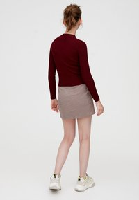 PULL&BEAR - Maglione - bordeaux - 2