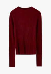 PULL&BEAR - Maglione - bordeaux - 5