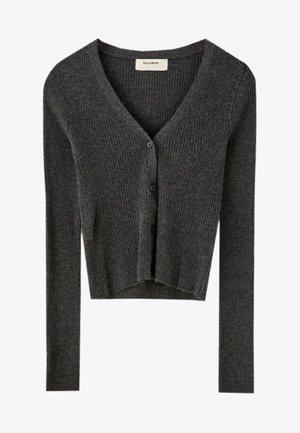 MIT KNÖPFEN - Strikjakke /Cardigans - gray