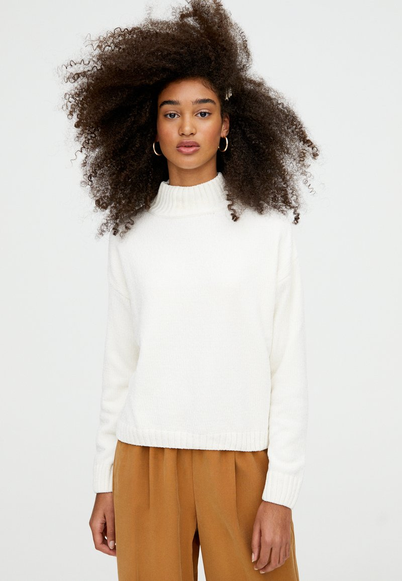 PULL&BEAR - Jumper - white