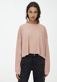 PULL&BEAR - LONG SLEEVE - Trui - rose - 3