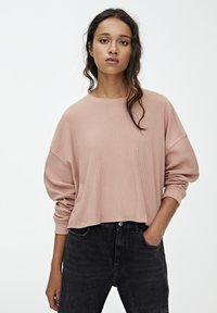 PULL&BEAR - LONG SLEEVE - Trui - rose - 0