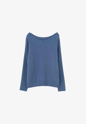 WEICHER STRICKPULLOVER 09558342 - Sweter - blue