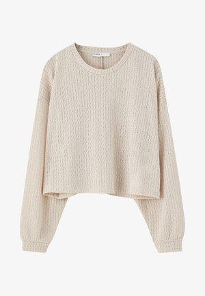 MIT LOCHMUSTER  - Pullover - beige