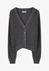 PULL&BEAR - Cardigan - dark grey - 5