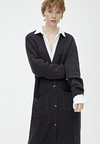 PULL&BEAR - Cardigan - dark grey - 3