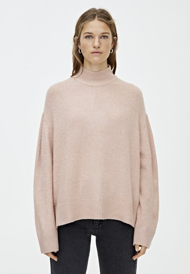 Sweter - rose gold