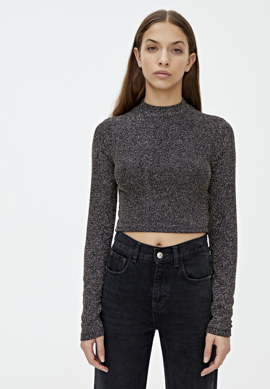 PULL&BEAR Sweter - grey