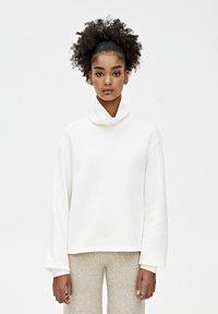 PULL&BEAR - Sweter - beige - 0