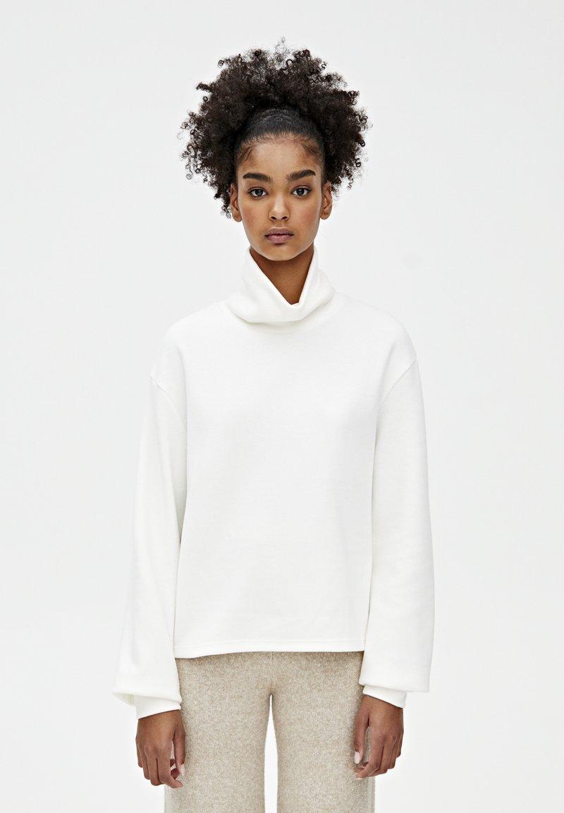 PULL&BEAR - Sweter - beige