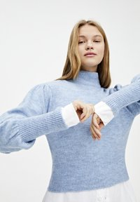 PULL&BEAR - MIT BALLONÄRMELN  - Sweter - blue - 3