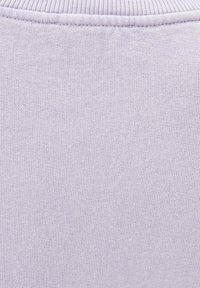 PULL&BEAR - OVERSIZE-SWEATSHIRT MIT PUFFÄRMELN 05596327 - Sweater - mottled purple - 6
