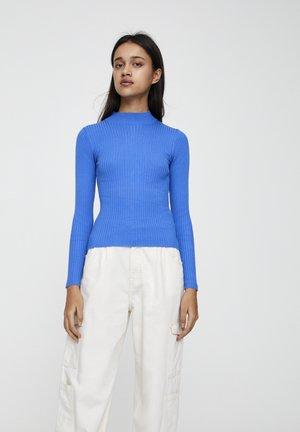 MIT STEHKRAGEN  - Pullover - royal blue