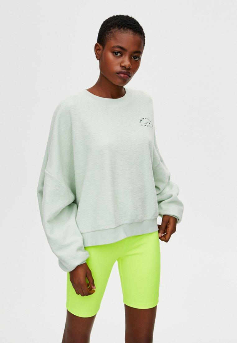 PULL&BEAR - Sweatshirt - light green