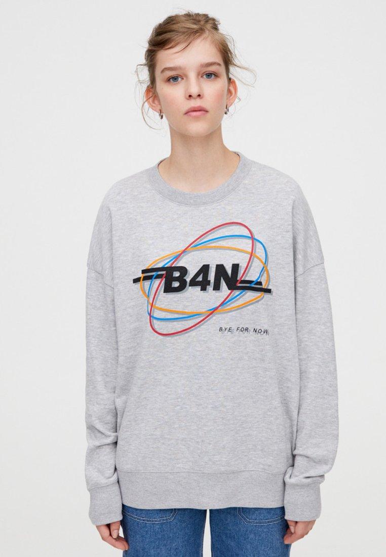 PULL&BEAR - Sweatshirt - light grey