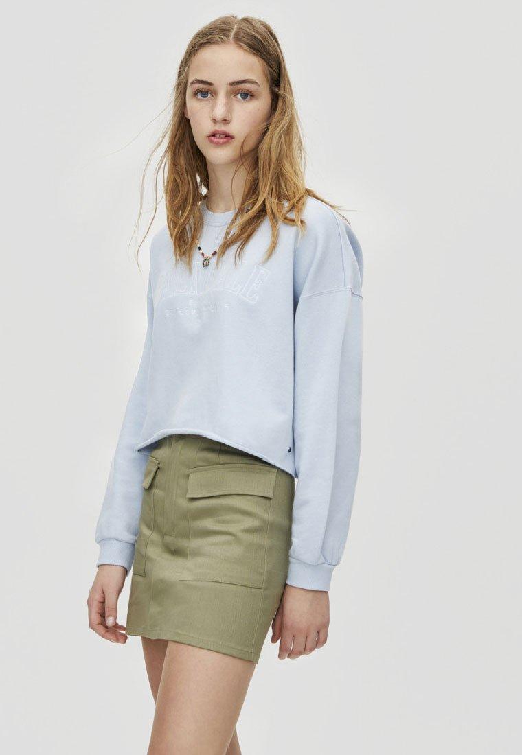PULL&BEAR - JOIN LIFE  - Sweatshirt - blue