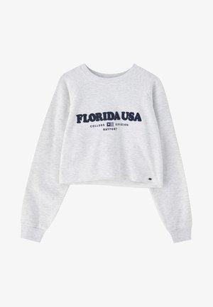 MIT SCHRIFTZUG FLORIDA USA  - Felpa - light grey