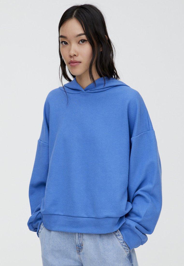 PULL&BEAR - MIT KAPUZE  - Hættetrøjer - blue