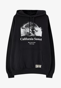 PULL&BEAR - CALIFORNIA SUNSET - Sweat à capuche - black - 6