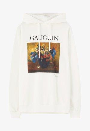 GAUGUIN  - Sweat à capuche - white