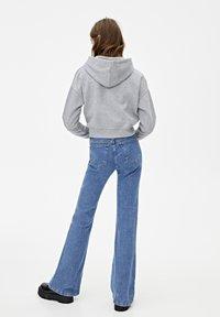 PULL&BEAR - MIT KAPUZE UND REISSVERSCHLUSS - veste en sweat zippée - dark grey - 2